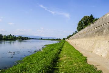 River Sava in Croatia