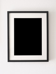 empty black frame
