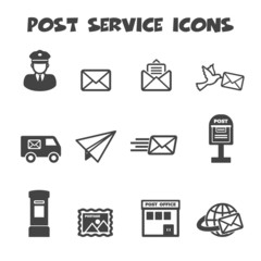 post service icons