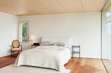 modern architecture, interior, bedroom