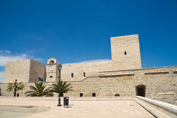 Castle of Trani. Puglia. Italy.