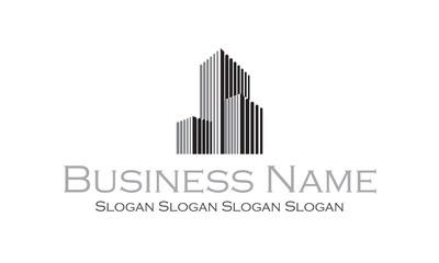 Logo architecte : immeuble