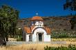 canvas print picture - Greek Church on Crete