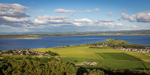 Panorama Rosemarkie Bay, Scotland
