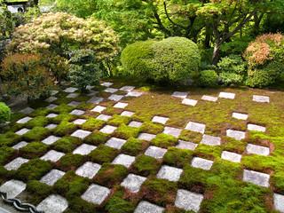 東福寺本坊 北庭の妙「小市松の庭園」