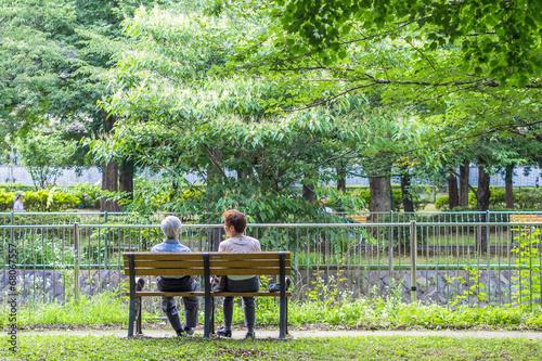 The age couple who takes a break