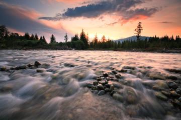 River Bela in Slovakia.