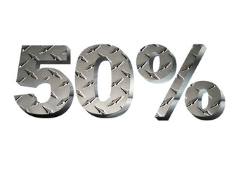 50% Metal