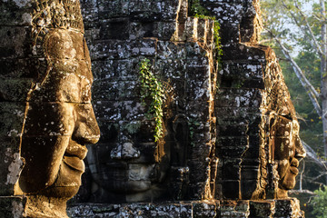 The Bayon Face, Temple of Angkor Thom