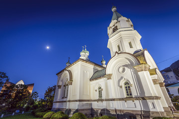Hakodate Orthodox Church in Hakodate, Hokkaido, Japan