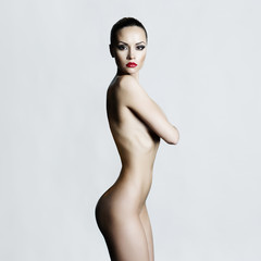 Elegant naked lady