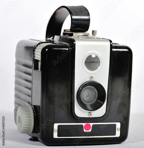 Poster A vintage film camera.