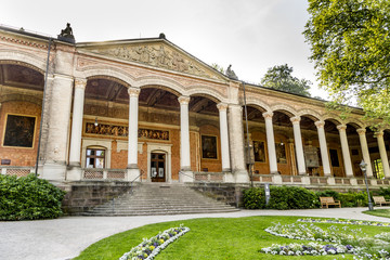 Trinkhalle ,pump house in the Kurhaus spa complex in Baden-Baden