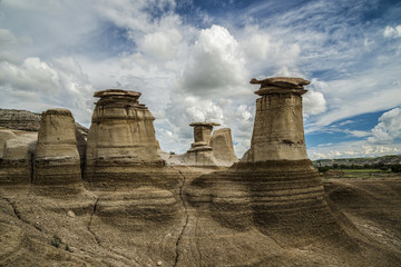Hoodoos of the Badlands
