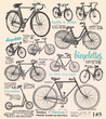 Bike poster with french text - 68073174