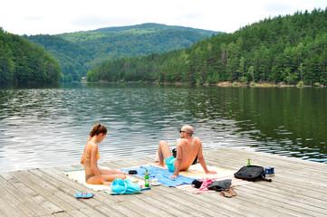 lake pontoon
