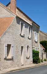 France, the picturesque village of Le Perchay