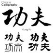 Various kind of Chinese Calligraphy