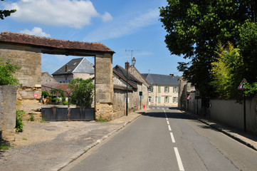 France, the picturesque village of Avernes