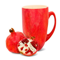 Pomegranate tea