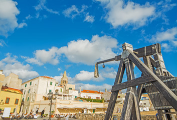 catapult in Alghero