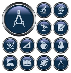 Education button set