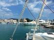 canvas print picture - Hafen auf der griechischen Insel Aegina bei Athen
