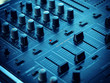 Closeup of dj controller - selective focus - 68075557