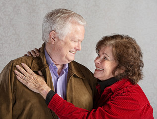 Caring Couple Embracing