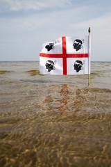 Sardinian flag.