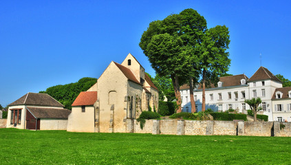France, the picturesque village of Goussonville