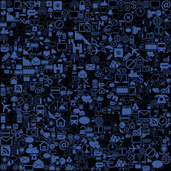Network background, vector