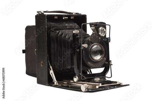 Old middle format film camera - 68075999