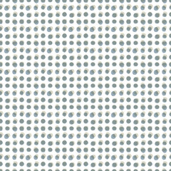 Monochrome dots seamless pattern, vector background.