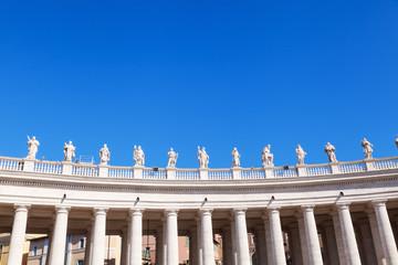 Kolonnaden am Petersplatz in Rom