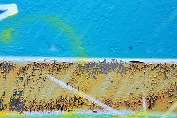 weathered graffiti texture