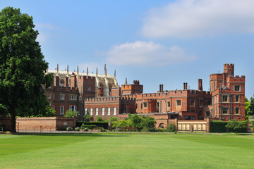 Eton College and playing fields