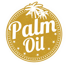 Palm oil  stamp