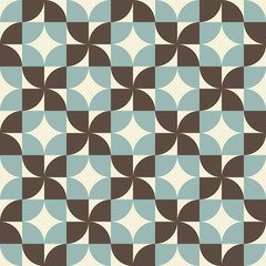 Geometric seamless pattern, vector background.
