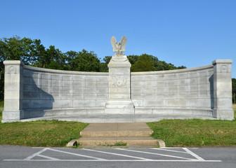 New York Memorial, located in Gettysburg Pennsylvania