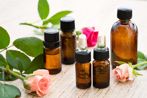 Leinwanddruck Bild Aromatherapy essential oil
