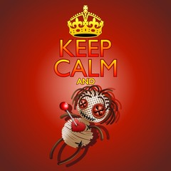 Keep Calm and Voodoo Doll