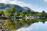 Campsite Ullswater Lake District Cumbria