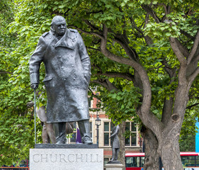 London Churchill Statue