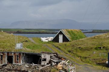 maison islandaire ancienne