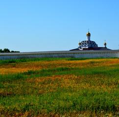 Стена Свенского монастыря