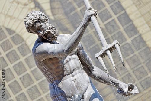 Foto op Plexiglas Fontaine Neptune's Fountain (Fontanna Neptuna)