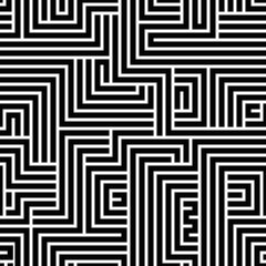 Maze seamless pattern.