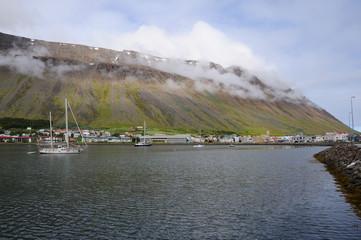 port islandais
