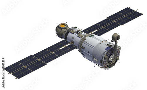Fototapeta International Space Station. Module